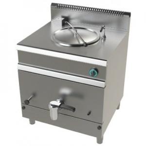 Marmita a gas 50 litros calentamiento directo 15,5Kw Serie 700 JUNEX de 800x730x900h mm MG7N050D